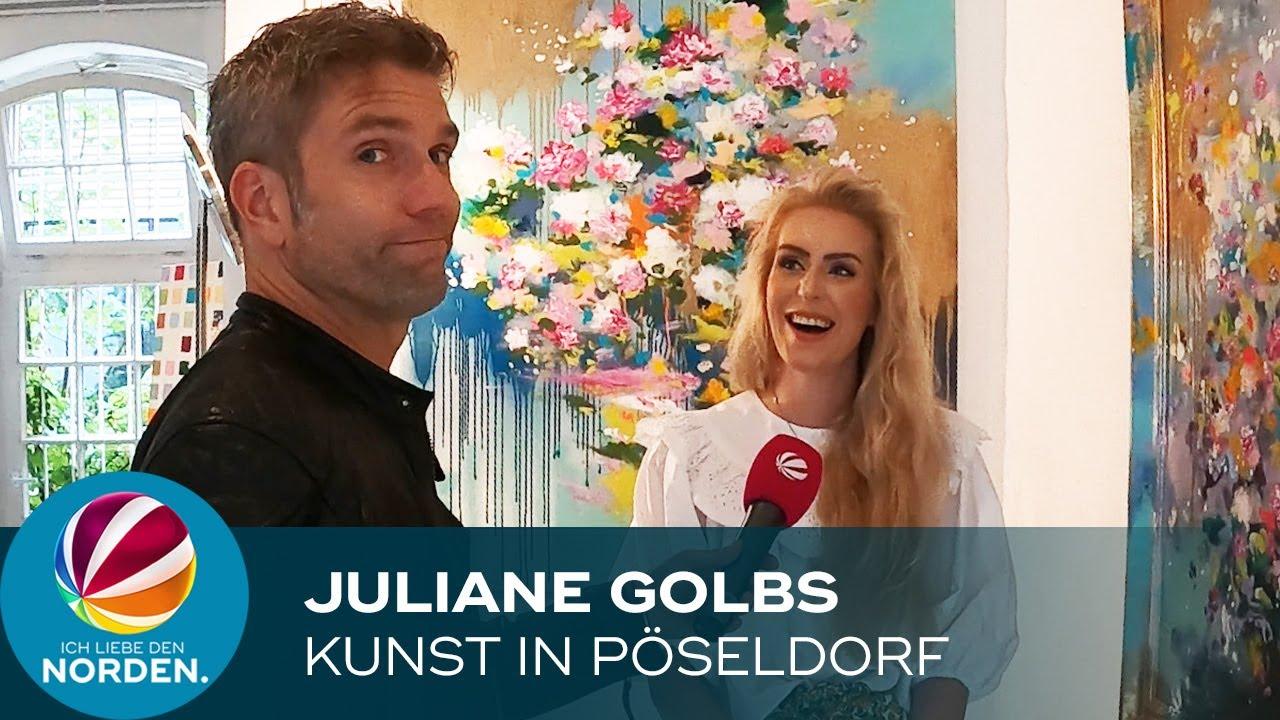 Kunst in Pöseldorf: Juliane Golbs stellt aus