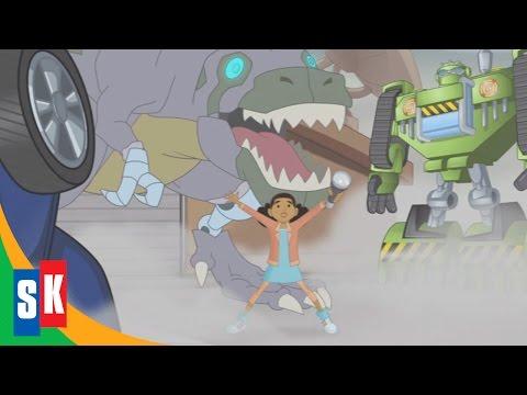 Transformers Rescue Bots: Jurassic Adventure (1/4) Dinobot Macarena