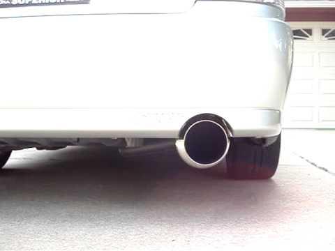 2001 Lexus IS300 HKS Dragger 2 Exhaust w Resonator Delete  YouTube