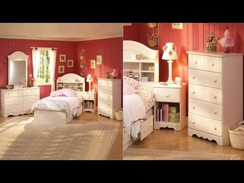 South Shore Summer Breeze Kids Twin Wood Bookcase Bed 3 Piece Bedroom Set  In Vanilla Cream Finish
