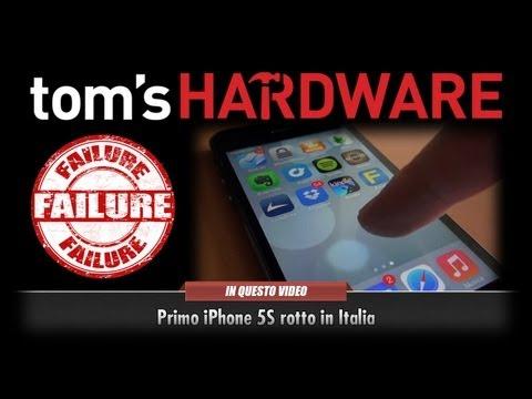Primo iPhone 5S rotto in Italia Display Click
