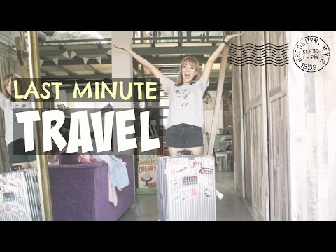 Last Minute Travel Tips | Jade Seah