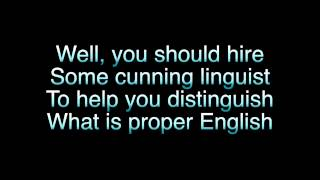 Word Crimes Lyrics  - Weird Al
