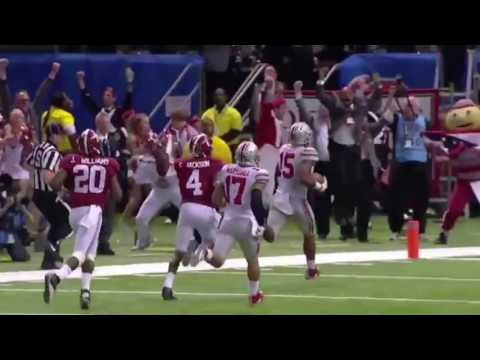 """College Football """"Moments of the Decade"""" 2010-2016"""