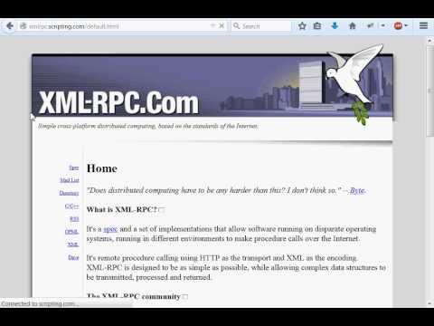 Python [XML-RPC] 01 Research