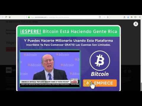 Bitcoin trader de amancio ortega