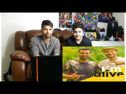 Maher Zain & Atif Aslam - I'm Alive (Official Music Video) REACTION
