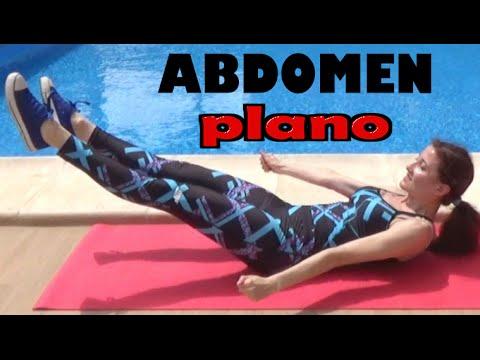 EJERCICIOS PARA UN ABDOMEN PLANO FIRME Y DEFINIDO - Rutina de abdominales 10 minutos