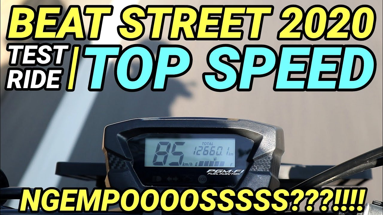 ( TOP SPEED ) BEAT STREET 2020 BONCENGAN!