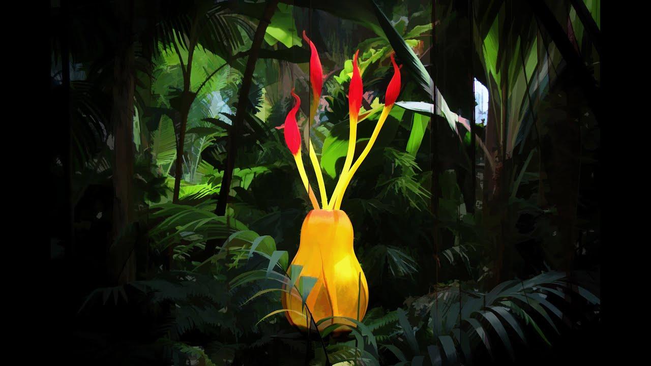Atlanta Botanical Garden Chihuly Youtube