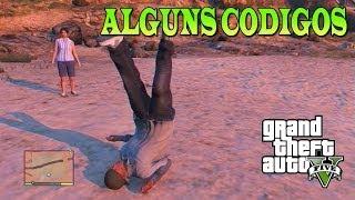 GTA 5 - Alguns códigos (super pulo, correr mais rápido, gravidade da lua)