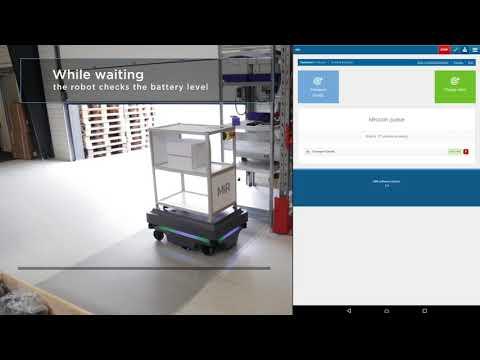 MiR200 more powerful autonomous mobile robot | Mobile