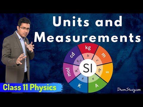 Unit and Measurements for IIT-JEE Physics | CBSE Class 11 XI | Video Lecture in Hindi