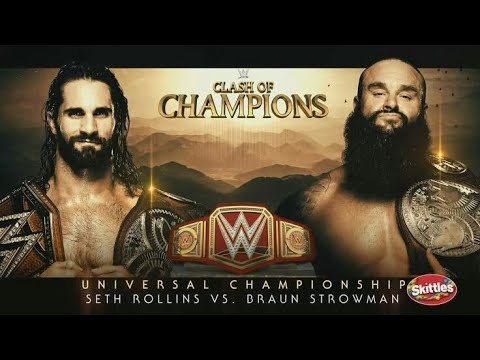 Download Seth Rollins vs Broum Strowman Clash of Champions Highlights
