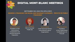 RMB 2020: Session 2 Financement de l'économie sociale et solidaire