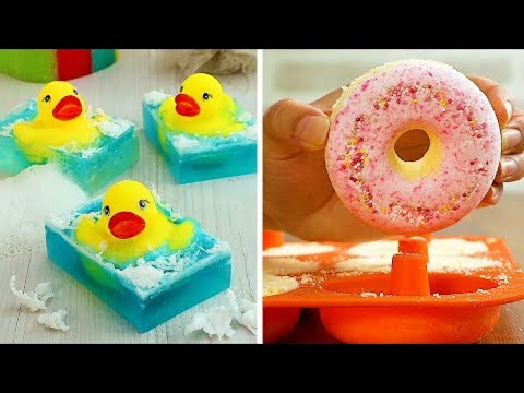 10 Awesome DIY Soap Ideas & Bath Crafts