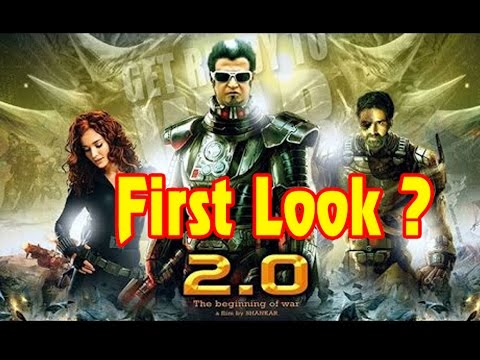 Rajini's 2.0 Movie First look Very Soon   Rajinikanth   Akshay Kumar