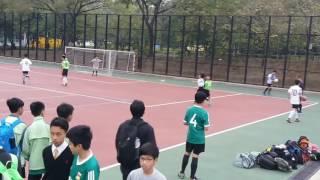 北區學界足球賽丙组-聖芳濟各對迦密柏雨上半埸part B 1