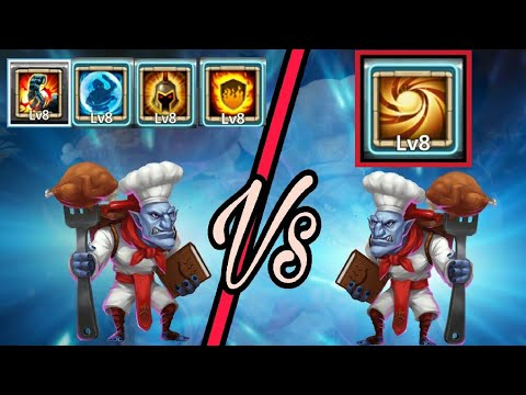 Sacred Light Walla Vs Different Talents Walla | Which One Is Best...? | Castle Clash