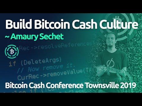Build Bitcoin Cash Culture ~ Amaury Séchet (BCH Conference 2019)