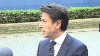 Cina, Conte da Bruxelles: ''Contro-vertice di Macron senza Italia? È solo una cortesia verso Merkel