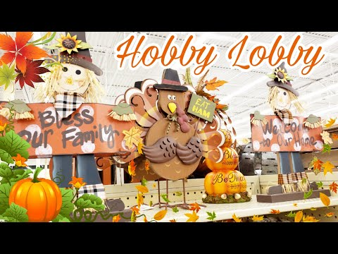HOBBY LOBBY SHOP WITH ME 🍁 FALL 2019