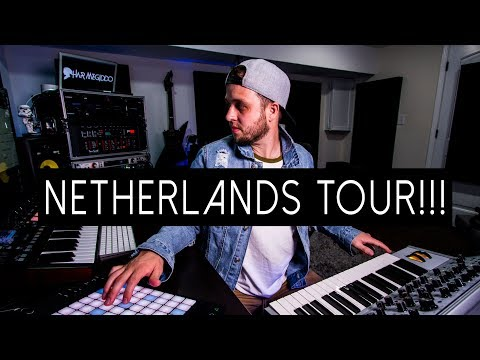 NETHERLANDS TOUR AND NEW MUSIC UPDATE