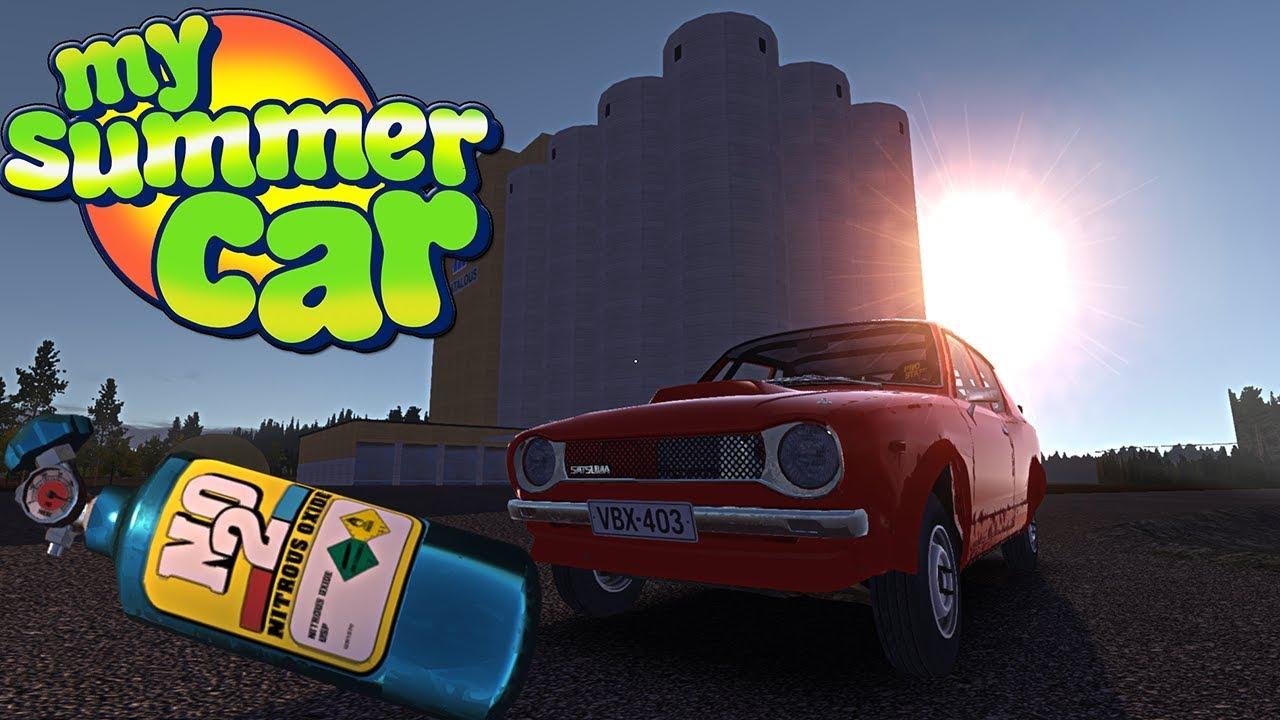 MONTAŻ NITRO, NOWE BUDYNKI, SKOCZNIE NARCIARSKIE – My Summer Car #85
