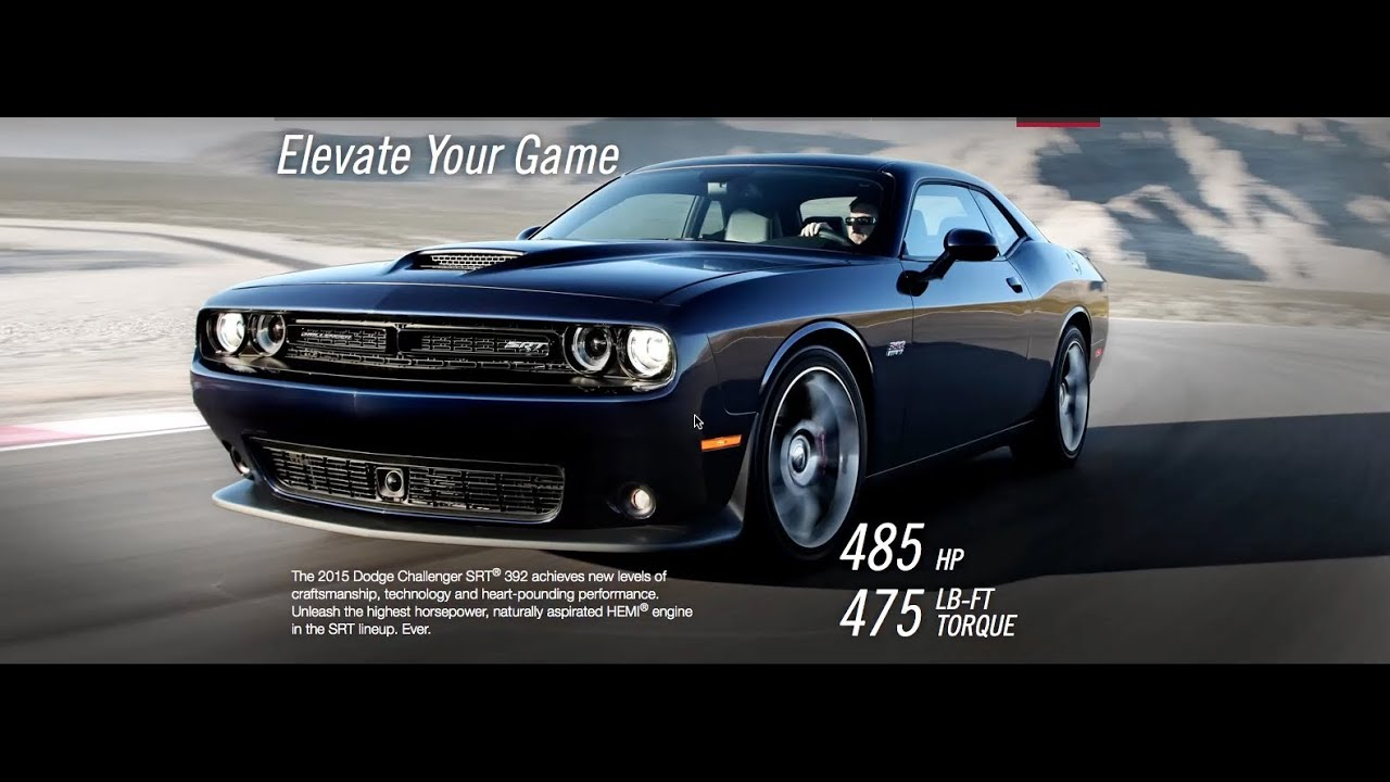 Dodge Build And Price >> 2015 Dodge Challenger Srt8 Build Price Configurator Review Youtube