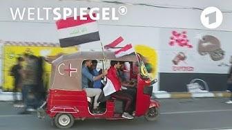 Irak: Aufstand der Hoffnungslosen in Bagdad   Weltspiegel