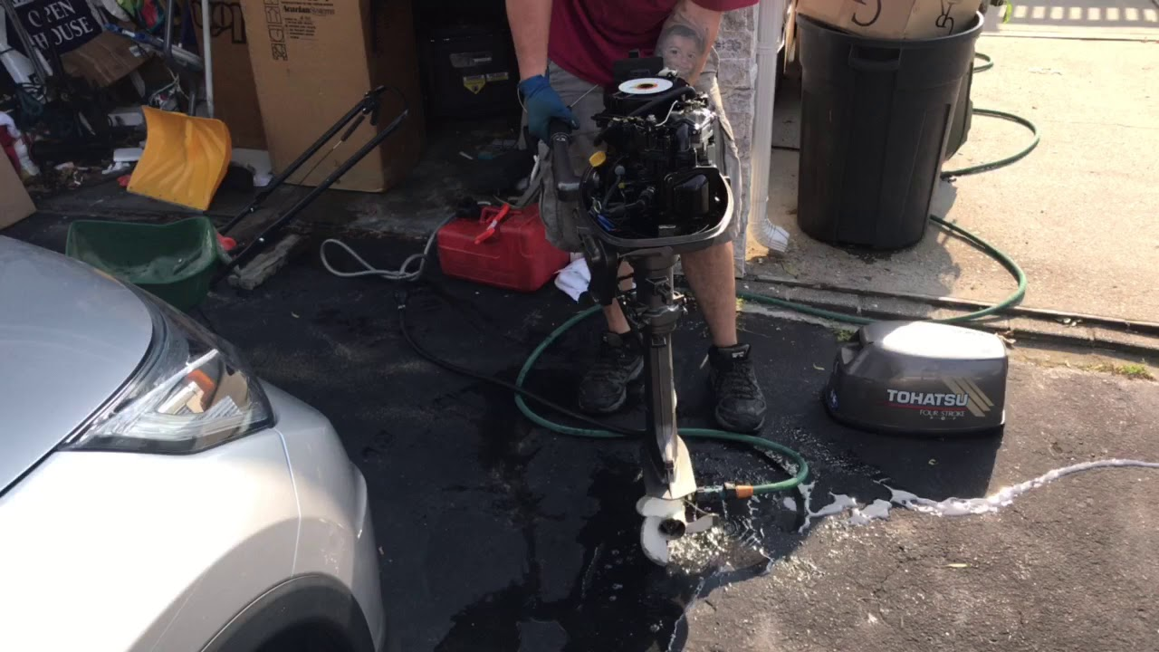 6 Hp Tohatsu Outboard For Sale