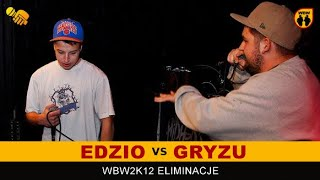 Bitwa: GRYZU vs EDZIO [WBW 2012 Freestyle Grand Prix Powiśla]