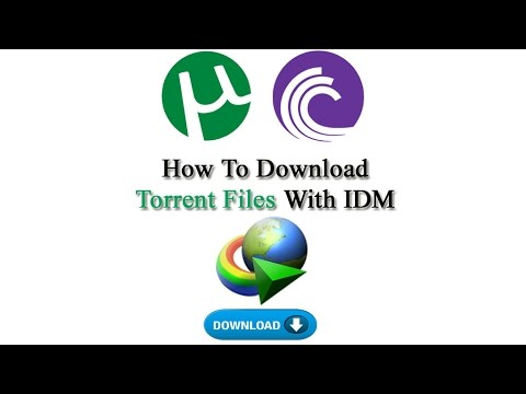 How To Download Torrent Files With IDM (Internet Download Manager) Telugu