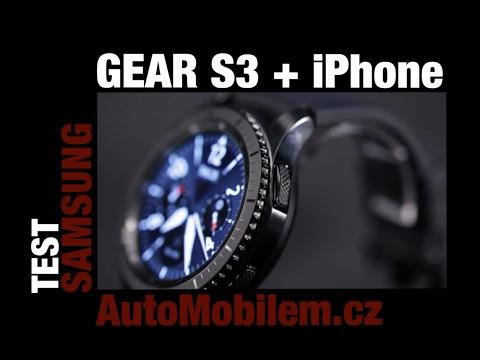 Samsung Klocka Gear S3 Iphone