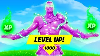 MAX LEVEL in Fortnite