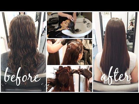 My Hair Transformation || Keratin Smoothing Treatment || Eliana Jalali