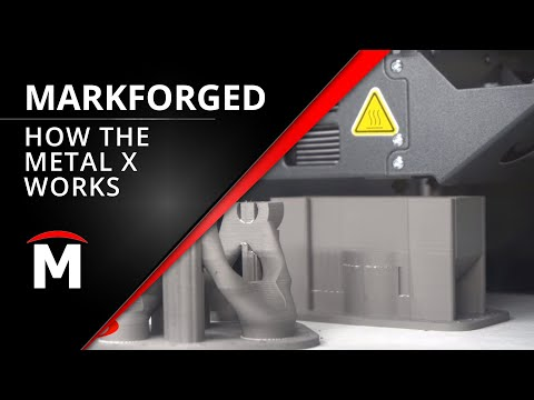 The Markforged Metal X is Here