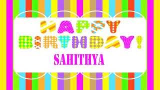 Sahithya   Wishes & Mensajes Happy Birthday