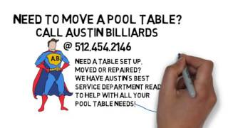 Pool Table Moving And Repair | Austin Billiards