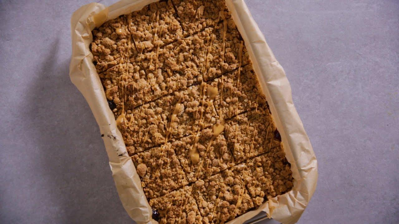 Peanut Butter & Jam Crunchies