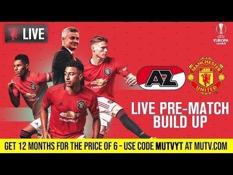 AZ Alkmaar V Manchester United - MUTV Pre-Match Build Up 16:30 (BST)   Half Price Subscription Offer