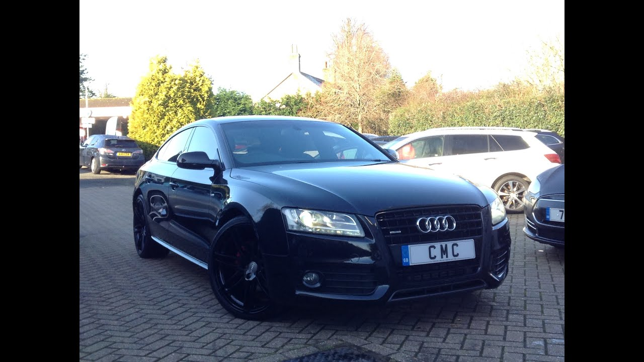 audi a5 3 0 tdi s line sportback s tronic quattro 5dr for. Black Bedroom Furniture Sets. Home Design Ideas
