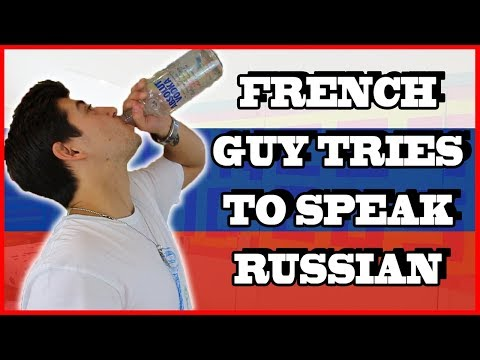 FRENCH GUY TRIES TO SPEAK RUSSIAN | SWEAR WORDS EDITION