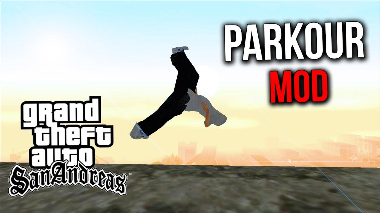 Gta san andreas parkour mod 2016/2017 youtube.