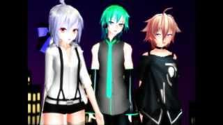 [MMD] Somebody that I used to know -  Haku, Hatsune Mikuo & IO (Motion, Camera & WAV Download)