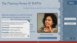 The passing away of Bapu | Class X English | WBBSE