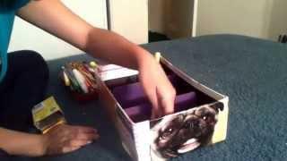 Diy Shoe Box Organizer