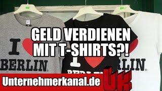 T-Shirt Formel: (Wie) Funktioniert online Geld verdienen mit T-Shirts? (Teezily, Fabrily Teespring)