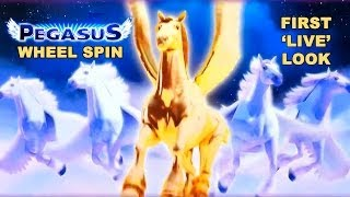 **NEW SLOT** - Pegasus Wheel Spin - WMS - Slot Machine Bonus