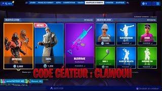 FORTNITE BOUTIQUE OF AUGUST 18, 2019 - FORTNITE ITEM SHOP AUGUSTE 18 2019 - NEW PACK